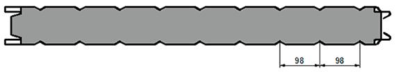 КЛ2 (клиновидные канавки)