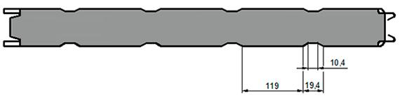 СТ1 (стандартное трапециевидное)