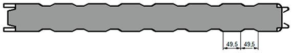 СТ3 (стандартное трапециевидное)